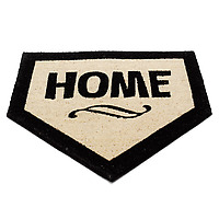 Home Plate Doormat flat