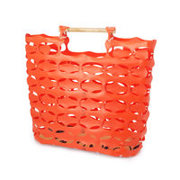 Ornj Construction Fence Tote by David Shock 3
