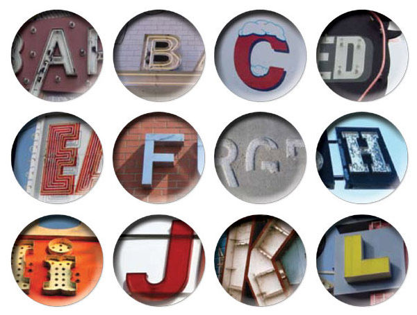 A–Z Coaster Set by Bob's Your Uncle  1