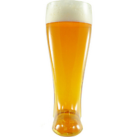Glass Beer Boot on Wantist