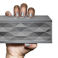 JAMBOX by Jawbone grey with woman model