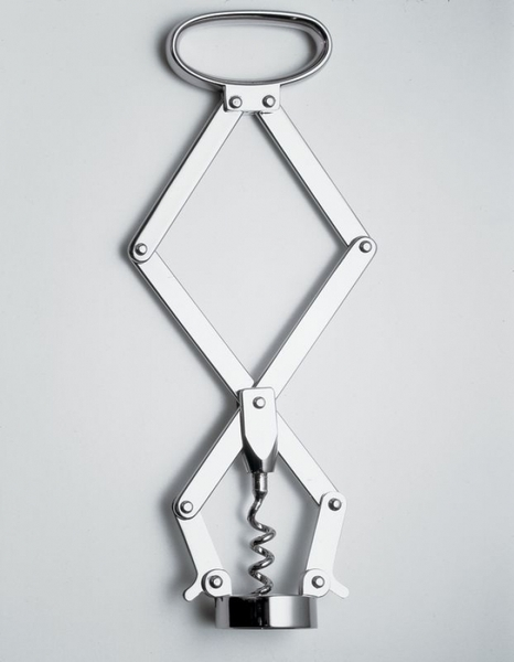Socrates Corkscrew by Jasper Morrison for Alessi on Wantist