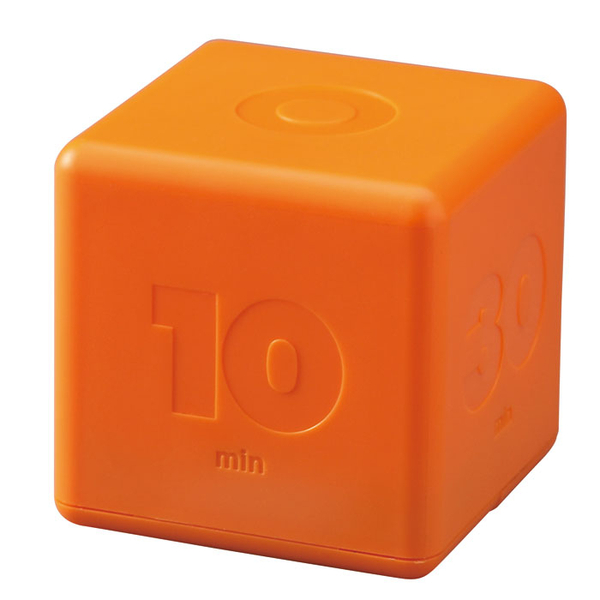 IDEA Cubic Timer Orange front view