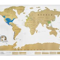 Scratch Off World Map 3