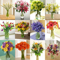 12 Months of Organic Bouquets on Wantist
