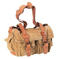 Timberland Earthkeepers Canvas Field Bag w/Leather Trim 5