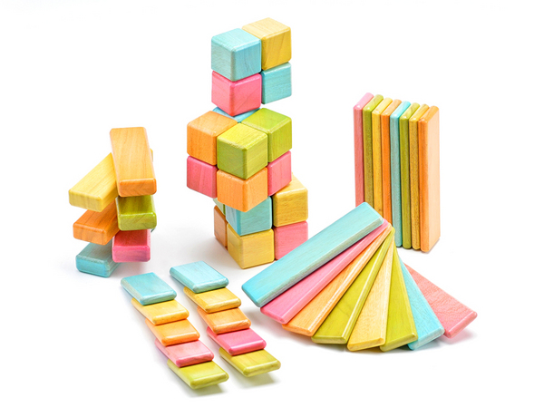Tegu Tints Magnetic Blocks on Wantist