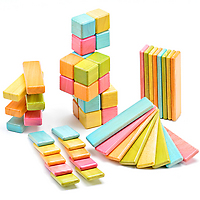 Tegu Tints Magnetic Blocks Set of 52