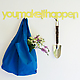Quote Hook by Blend Design You Make It Happen yellow gardening with Baggu