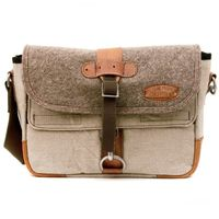 Upcycled Messenger Bag by Karl Paul on Wantist