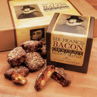 Sir Francis Bacon Chocolate Peanut Brittle 2