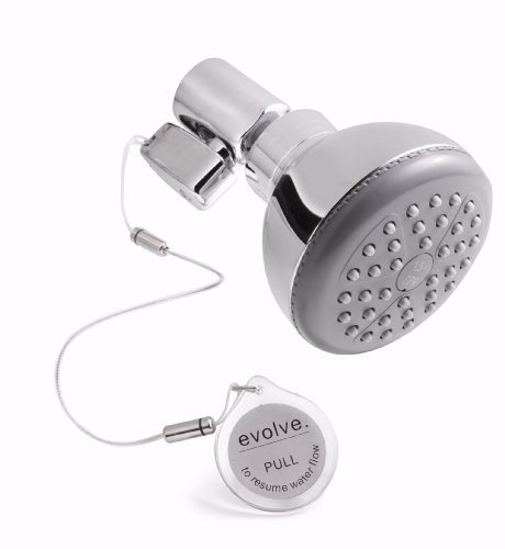 Evolve Showerheads Roadrunner Water-Saving Shower-Head Front View