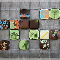 Fleurir Hand Grown Chocolates pieces
