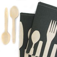 Flatware Napkins by Skinny laMinx  Set of 2 1