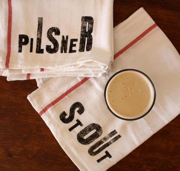 Beer Lovers Kitchen Towels - Set of 4 on Wantist