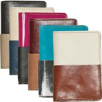 Upcycled Leather Passport Case on Wantist