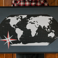 World Map (Black) 1