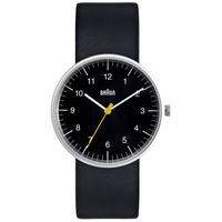 Braun Round Analog Watch on Wantist