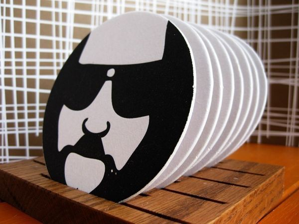 The Big Lebowski Letterpressed Coasters 1