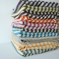 Handwoven Turkish Beach or Bath Towel 1