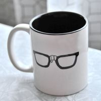 Coffee Nerd Glasses Mug on Wantist