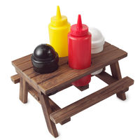 Picnic Table Condiment Set on Wantist