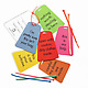 Luggage Tags by Pamela Barsky- Set of 6 3