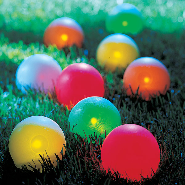 Lighted Bocce Ball Set 1