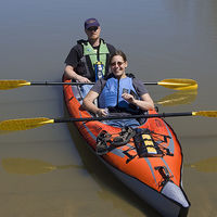 Convertible Inflatable Kayak for 1 or 2 4