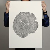 Tree of Life Print by Degree on Wantist