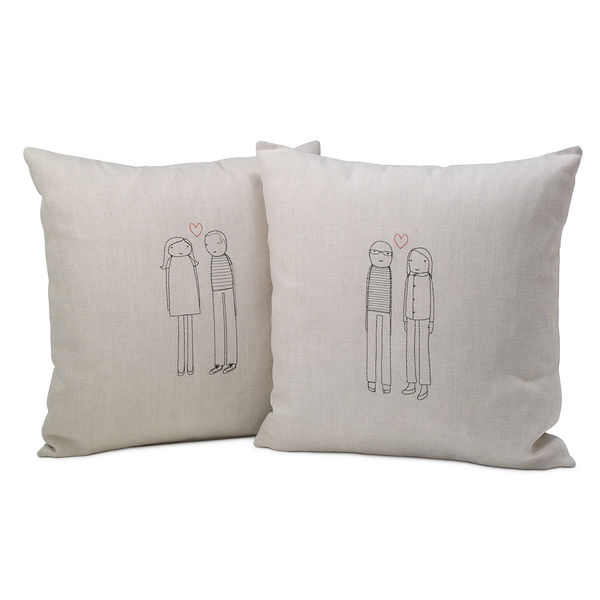 Personalized Couple Pillow on Wantist