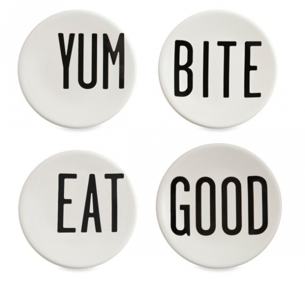 Round Canape Plates by Diane Keaton on Wantist