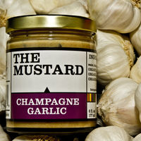 Champagne Garlic Mustard on Wantist