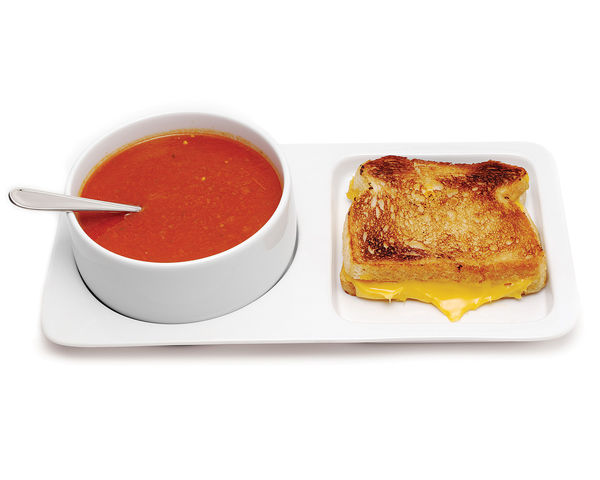 Soup and Sandwich Ceramic Tray Duo 1