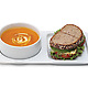 Soup and Sandwich Ceramic Tray Duo 4