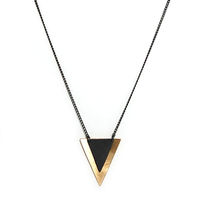 Isosceles Necklace by Magpie & Rye 1