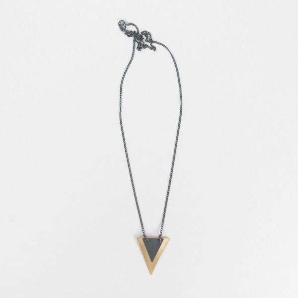 Isosceles Necklace by Stone & Honey on Wantist