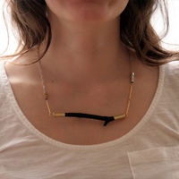 Horizon Necklace by Cursive Design 5