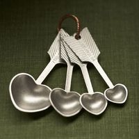 Beehive Heart Measuring Spoons 1