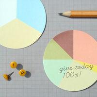 Pie Chart Stickies 2