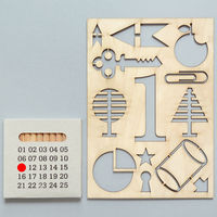 Wooden Numbered Stencil Set 2