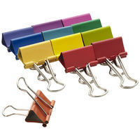 Spectrum Binder Clips on Wantist