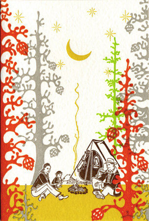 Camping_circa_1960s_letterpress_prints_2-sixhundred