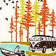 Camping Circa 1960s Letterpress Prints 4