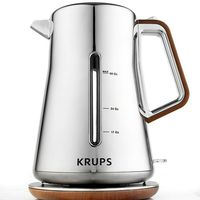 Krups Chrome & Wood BW600 Electric Kettle on Wantist