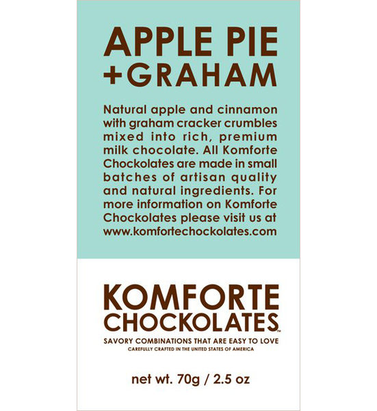 Apple Pie and Graham Milk Chocolate on Wantist