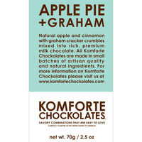 Apple Pie and Graham Milk Chocolate 1