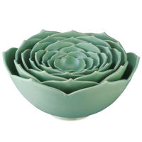 Nesting Lotus Bowls 1