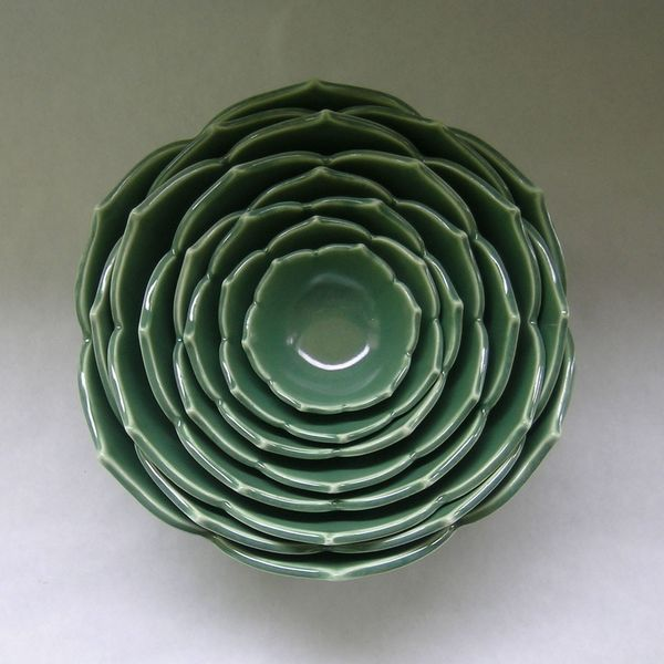 Nesting Lotus Bowls on Wantist