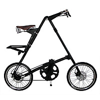 strida 5.0 sx folding bicycle front view